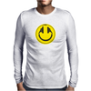 Headphones smiley wire plug Mens Long Sleeve T-Shirt