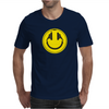 Headphones smiley wire plug Mens T-Shirt