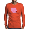 Heart 2 Heart Love Mens Long Sleeve T-Shirt