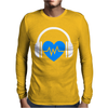 Heart Beat Mens Long Sleeve T-Shirt