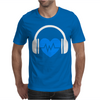 Heart Beat Mens T-Shirt