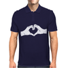 Heart Hands Mens Polo