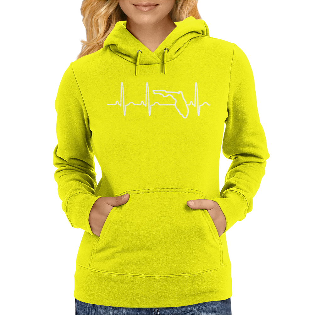 Heart of a Gator Womens Hoodie