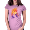 Heart Of Gold Womens Fitted T-Shirt