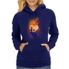 Heart Of Gold Womens Hoodie