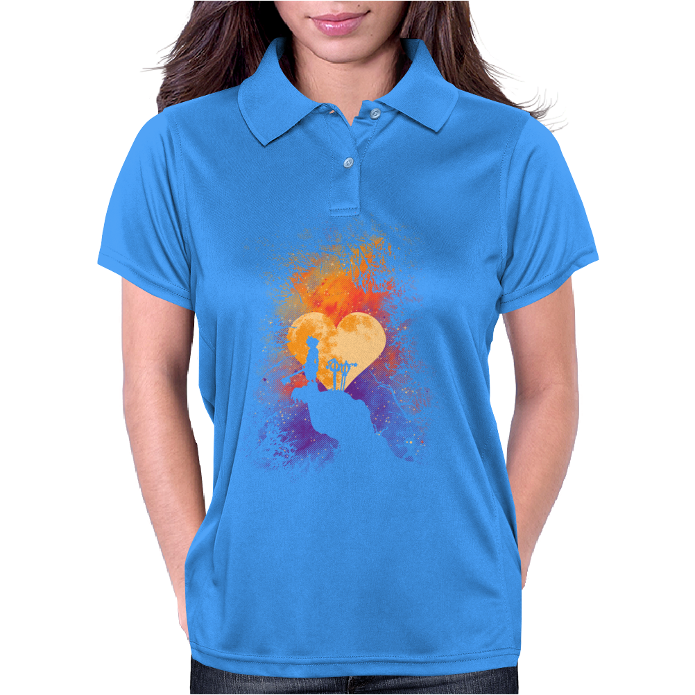 Heart Of Gold Womens Polo