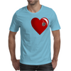 Heart Shot Mens T-Shirt