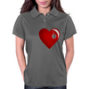 Heart Shot Womens Polo