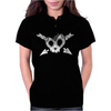 Heart Skull Teeth Womens Polo