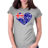 heart_australia Womens Fitted T-Shirt