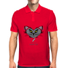 HeartKitty Were-Cat Mens Polo