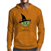 HeartKitty Witchy-Cat Mens Hoodie