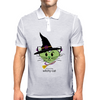 HeartKitty Witchy-Cat Mens Polo