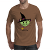HeartKitty Witchy-Cat Mens T-Shirt