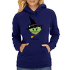 HeartKitty Witchy-Cat Womens Hoodie