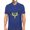 HeartKitty Zombie-Cat Mens Polo