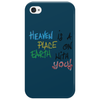 Heaven is a place on heart with you Phone Case