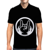 Heavy Metal Throwing Horns Mens Polo