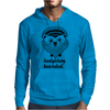 Hedgehog Bearded Mens Hoodie