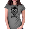 Hedgehog Bearded Womens Fitted T-Shirt