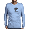 Hedgehog Mens Long Sleeve T-Shirt