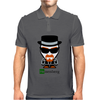 Heisenberg Cartoon Walter Mens Polo