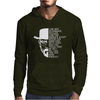 Heisenberg I Am Not In Danger I Am The Danger Mens Hoodie