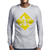 Heisenberg Skull & Crossbones Mens Long Sleeve T-Shirt