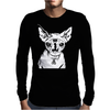 Hell Cat Mens Long Sleeve T-Shirt
