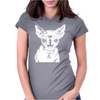 Hell Cat Womens Fitted T-Shirt