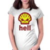Hell Womens Fitted T-Shirt