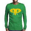 Hellaphant Oakland Athletics. Mens Long Sleeve T-Shirt
