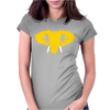 Hellaphant Oakland Athletics. Womens Fitted T-Shirt