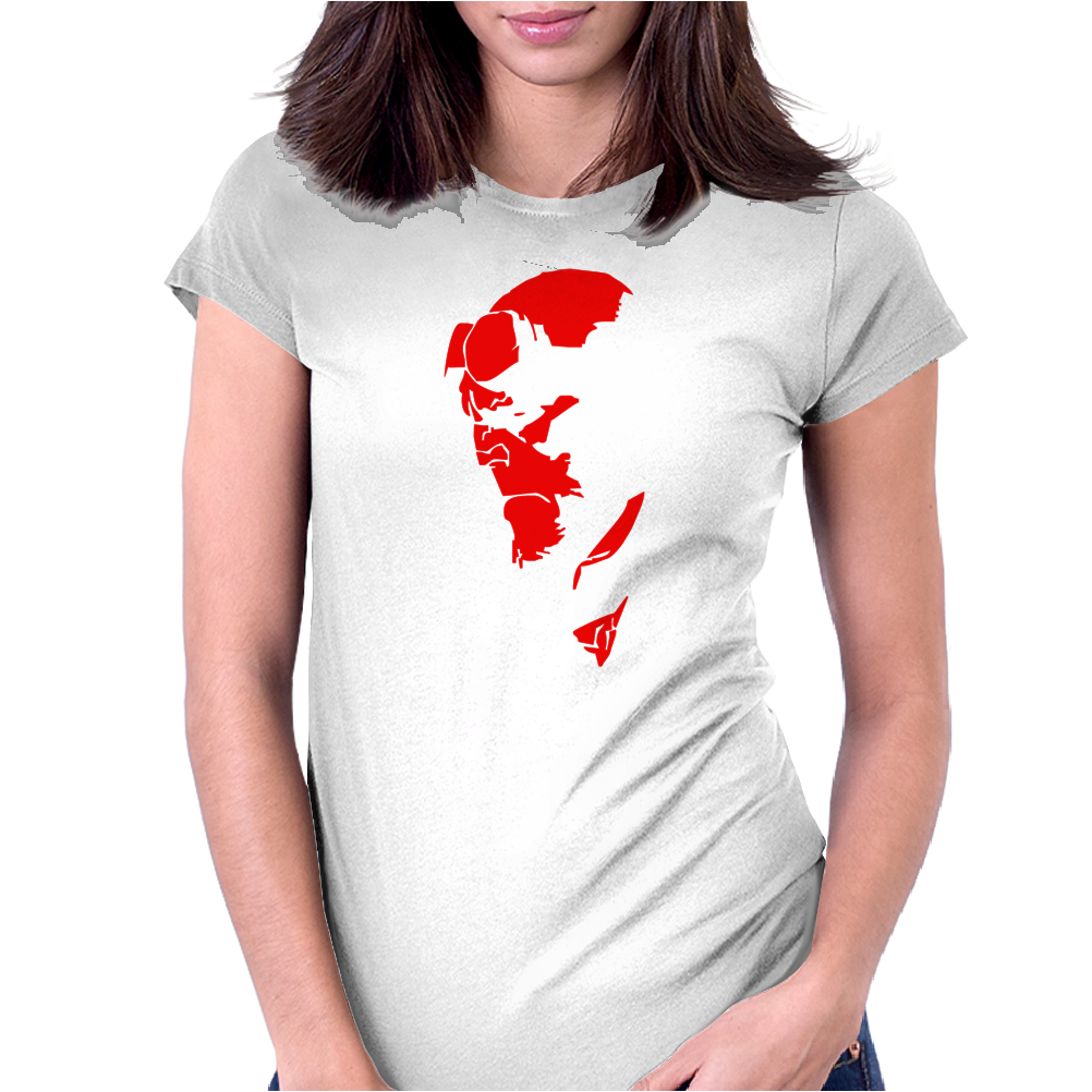 HELLBOY COMIC SUPERHERO COOL Womens Fitted T-Shirt