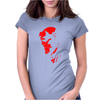 Hellboy Comic Superhero Womens Fitted T-Shirt