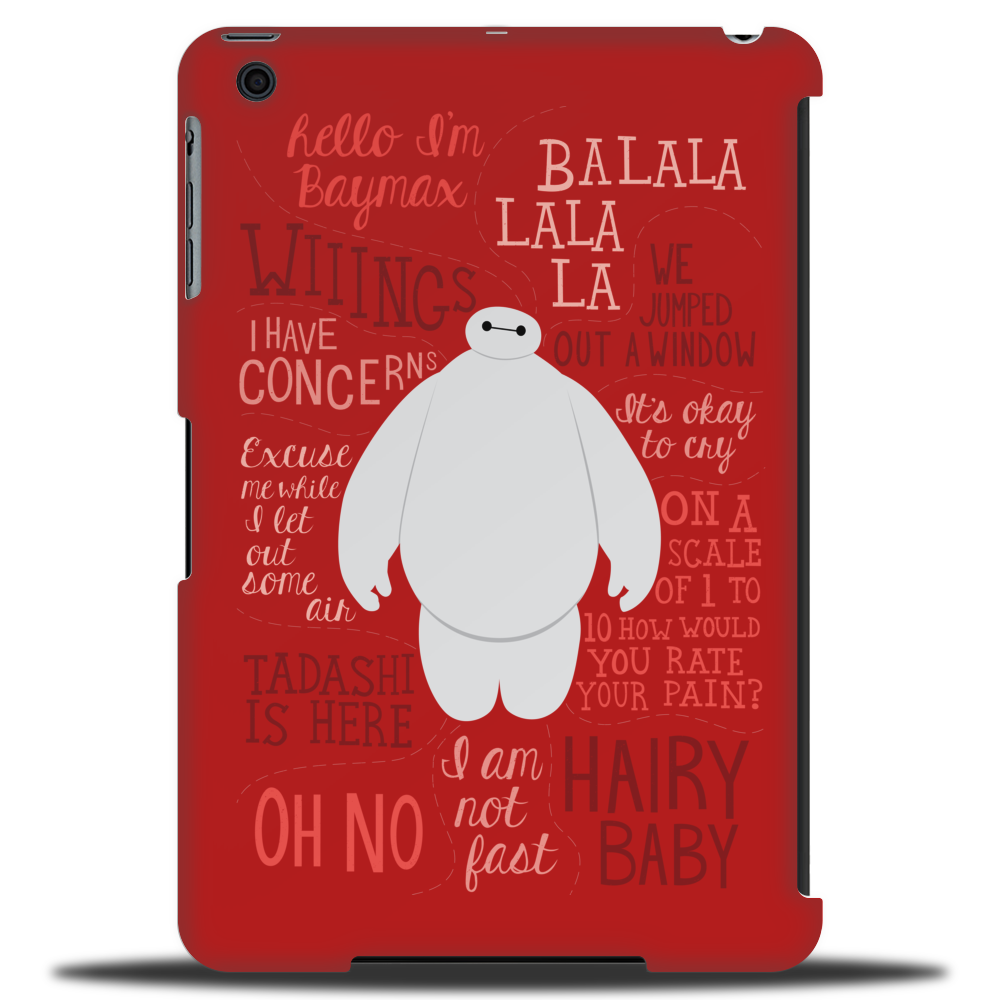 Hello, I'm Baymax Tablet (vertical)