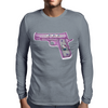 Hello Kitty Gun   Mens Long Sleeve T-Shirt