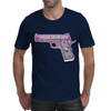 Hello Kitty Gun   Mens T-Shirt