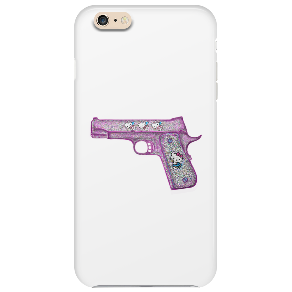 Hello Kitty Gun   Phone Case