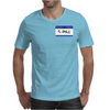 Hello my name is Al Coholic Mens T-Shirt