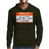 Hello My Name Is The Guy Who Hates Halloween Costumes Mens Hoodie