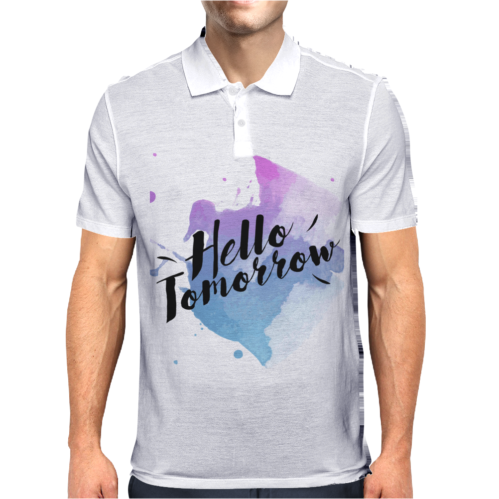 Hello tomorrow Mens Polo