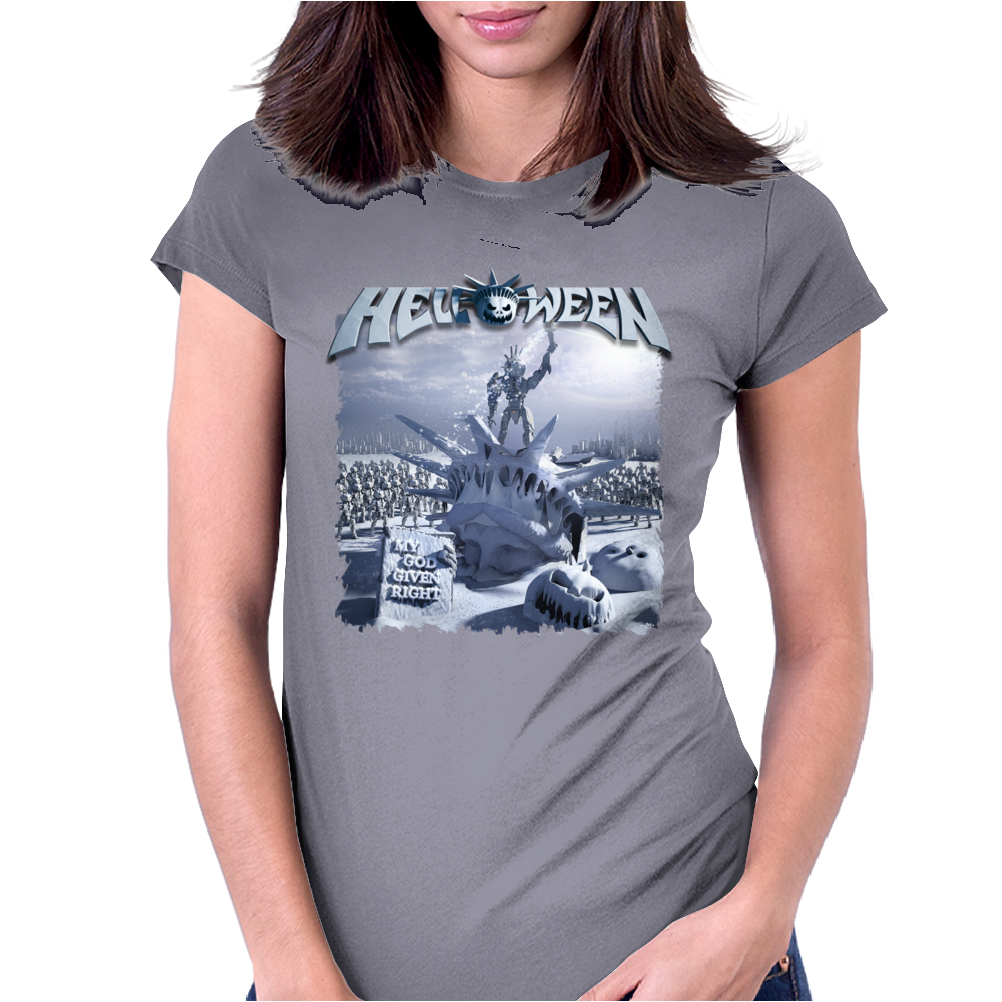 Helloween 2015 My God Given Right Womens Fitted T-Shirt