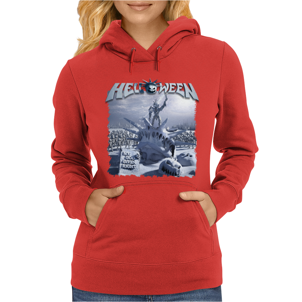 Helloween 2015 My God Given Right Womens Hoodie