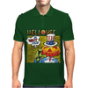 Helloween I Want Out Mens Polo