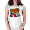 HELLOWEEN MONSTER CREW Womens Fitted T-Shirt