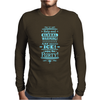 help end global warming add more ice enjoy the party (light blue) Mens Long Sleeve T-Shirt