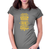 help end global warming add more ice enjoy the party (yellow) Womens Fitted T-Shirt