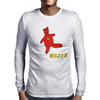 Her Blitz aka. The Flash Mens Long Sleeve T-Shirt