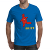 Her Blitz aka. The Flash Mens T-Shirt
